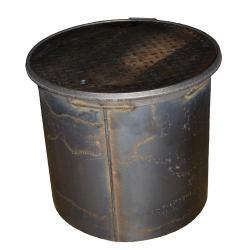 18 Inch Round Steel Manhole With 18 Inch Skirt