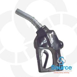 Black Diesel Truck Nozzle Without Spout Ring 1 Inch Inlet Without Hold Open Clip-For Dispensing Systems