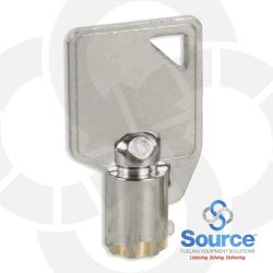 Wayne Round Barrel Lock Key
