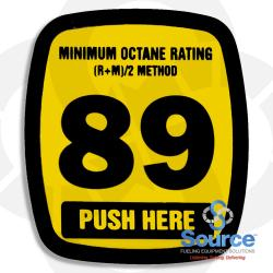 Decal Actuator Generic 89 Octane