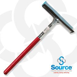 8NY-16A - 8 Inch Squeegee Head With 12 Inch Wood Handle