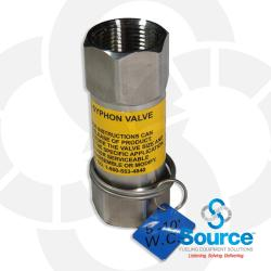 1 Inch Anti-Syphon Valve With Expansion Relief 5-10 Foot W.C.