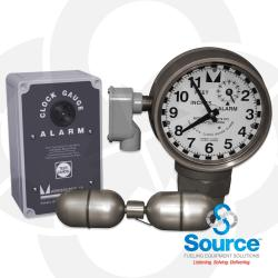 2 Inch Clock Gauge Alarm With Float