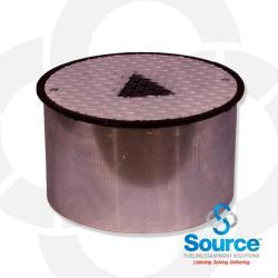 18 Inch Round Monitoring Manhole
