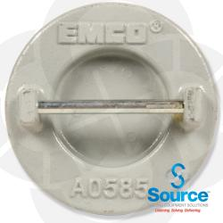 4 Inch Female Bar Style Extractor Pipe Cap