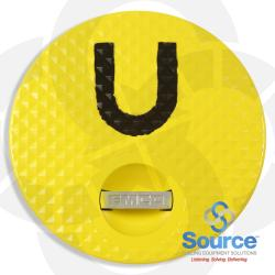 Composite Replacement Cover And Seal For A1004-210 Spill Containment, Yellow/Diesel
