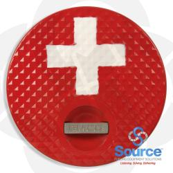 Composite Replacement Cover And Seal For A1004-210 Spill Containment, Red/Premium