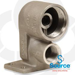 Splitter - Aluminum - Coaxial Dispenser Mount
