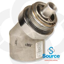 45 Degree Coaxial Hose Swivel Evr