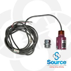 Non Product Distinguishing Sensor For Monitoring Containment Sumps Dispenser Pans Interstice Of Steel Tanks & Other Containment Areas (Comes With 12 Of Cable)