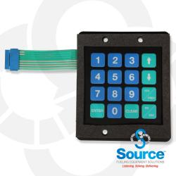 Keypad & Bracket For 900S Topkat
