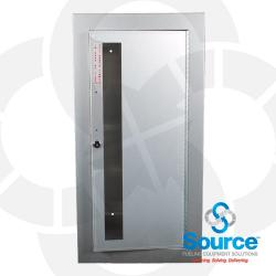 Surface Mounted Aluminum Fire Cabinet With Two Keys