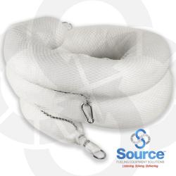 5 Inch X 10 Feet Oil Only Sorbent Booms (Polypropylene)
