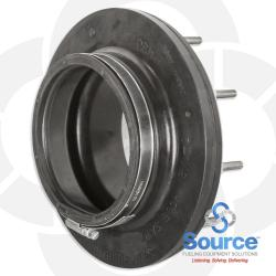 4 Inch Double Entry Boot Fitting For 4 Inch Rigid / Axp Pipe