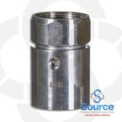 1-1/2 Inch Double Wall Swage On Swivel Coupling