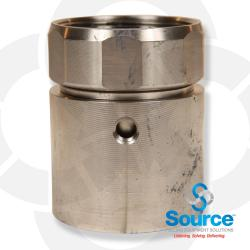 2 Inch Double Wall Pipe Coupling Stainless Steel