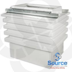 Polyethylene Wide Access Dispenser Sump 16 Inch X 30 Inch