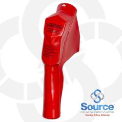 Red 11B Series Newgard 1-Piece Style Full Hand Insulator Nozzle Scuff Guard, Without Splash Guard