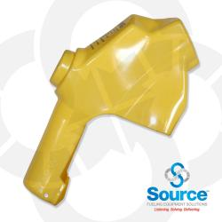 Yellow 7H Series Newgard 1-Piece Style Full Hand Insulator Nozzle Scuff Guard, Without Splash Guard