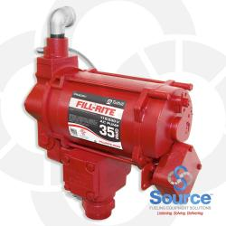 115/230V Ac Pump With Meter For Use With Ast Remote Dispensers 1/2 Hp