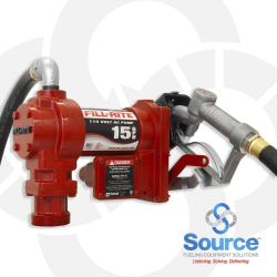 115V Ac Pump Steel Suction Pipe 3/4 Inch X 12 Foot Hose 3/4 Inch Manual Nozzle (Up To 13 Gpm)