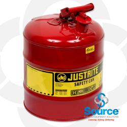 5 Gallon Type 1 Gas Can Red