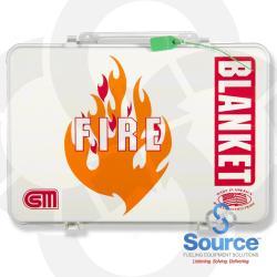 60 Inch X 84 Inch Fire Blanket