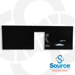 Encore Option Panel 1 Standard Black/White Inst/Receipt (En06006G006)