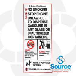 Safety Instructions Decal (R60032-10)