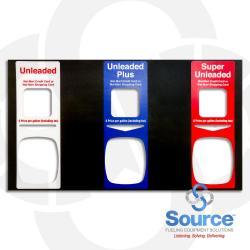Ovation Push-To-Start Panel Overlay, 3 Product, Dual Price, Wal-Mart C/C Or S/C, Unl/Unl Plus/Super Unl
