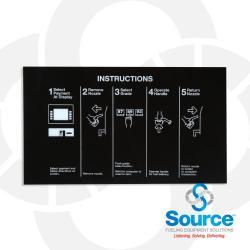 Encore Murphy Oil Nozzle Panel For Left Cim Blank Single Hose