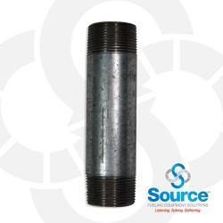 Nipple Pipe Galvanized - 1-1/4 Inch X 6 Inch