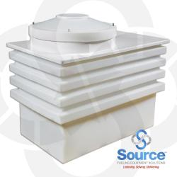 Polyethylene Transition Sump With Fiberglass Top