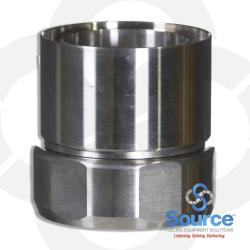 2 Inch Single Wall Swage On Swivel Coupling