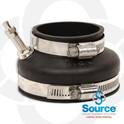 3 Inch To 2 Inch Frp Test Boot With Air Stem (Test Port)