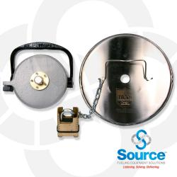 Tank Commander With Opw Low Profile Fill Cap And Four Number Changeable Combination Padlock