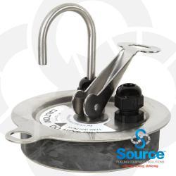 4 Inch Hydrostatic Sensor Vented Locking Riser Cap Installation Kit - Spare Replacement