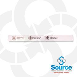 38 Inch X 3-1/2 Inch Printable Polyethylene Storage Tank Collar Unleaded Regular