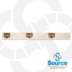 38 Inch X 3-1/2 Inch Printable Polyethylene Storage Tank Collar E85