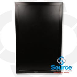 28 Inch X 44 Inch Black Pole/Wall Mount Frame