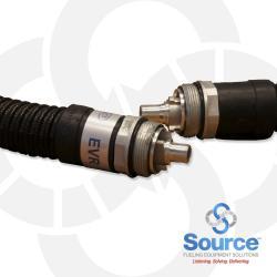 8 Foot ENVIRO-LOC EVR Balance Vapor Recovery Hose With Venturi