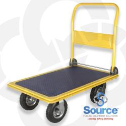 4 Wheel Handi-Mover Platform Hand Truck With Folding Handle