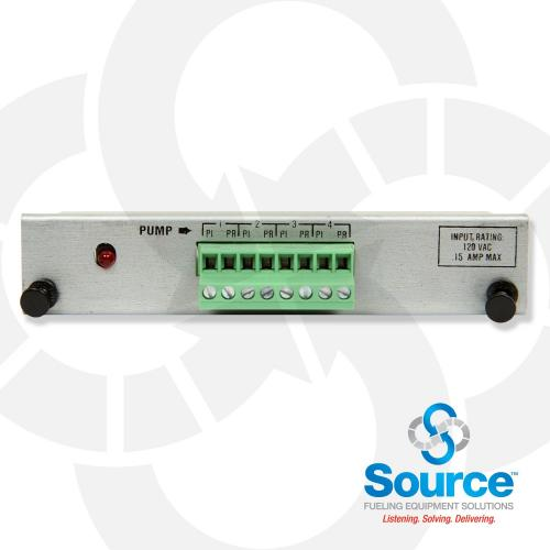 Four Input Pump Sense Interface Module For Tls-350- Spare Replacement