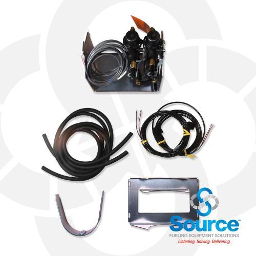 Vacuum Sensing System (SCVS) 2 Vacuum Sensor Kit  No Tank - 2 Pipes/Sumps