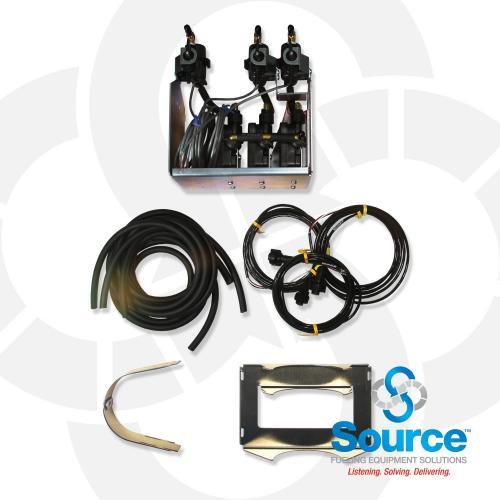 Vacuum Sensing System (Scvs) 3 Vacuum Sensor Kit No Tank - 3 Pipes/Sumps