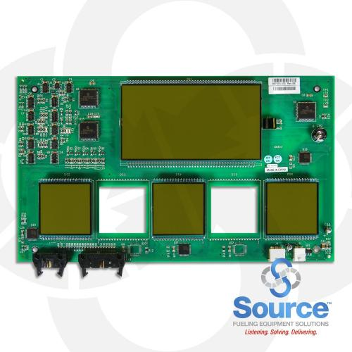 Igem 3 Product Main Display Board Cash/Credit Dual Price